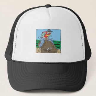 Bull Riding 2 Trucker Hat