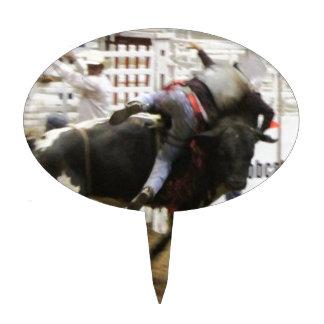 Bull Riding Cake Topper