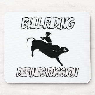 bull riding designs mouse pad