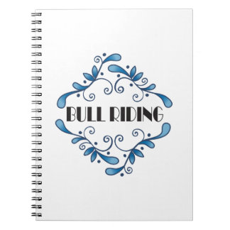 BULL RIDING NOTE BOOKS