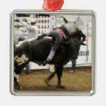 Bull Riding Ornaments