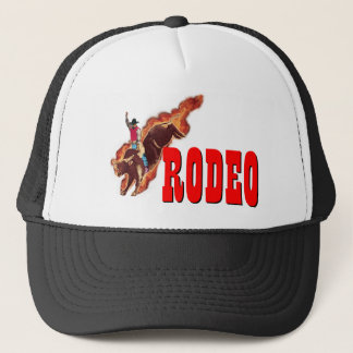 Bull riding rodeo cap