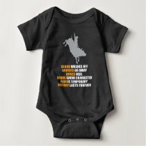Bull Riding Rodeo Texas Ranch Rider Cowboy Baby Bodysuit