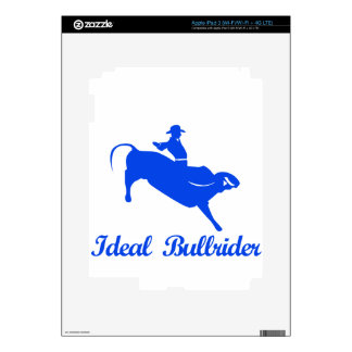bull riding  sports designs decals for iPad 3