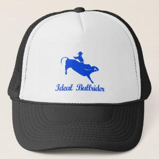 bull riding  sports designs trucker hat
