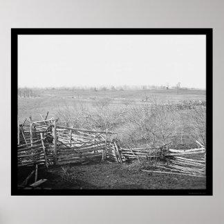 Bull Run Battlefield 1861 Print