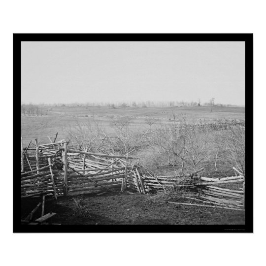 Bull Run Battlefield 1861 Poster