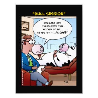 """Bull Session"" Photo"
