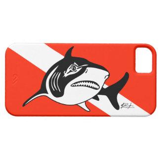 Bull Shark Dive Flag iPhone Case