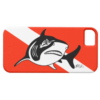 Bull Shark Dive Flag iPhone Case iPhone 5 Covers
