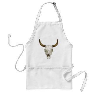Bull Skull Apron