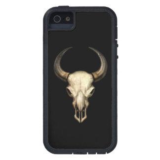 Bull Skull on Black iPhone SE/5/5s Case