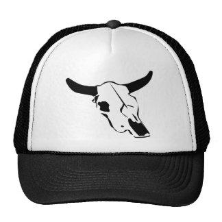 Bull Skull Trucker Hat