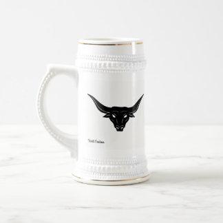 BULL—Strength of Texas ☼ Beer Stein