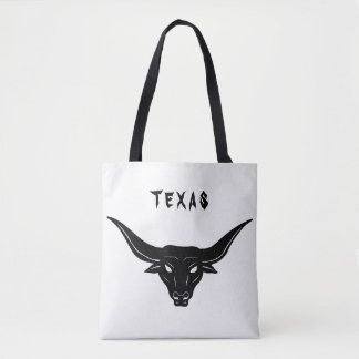 BULL—Strength of Texas ☼ Tote Bag