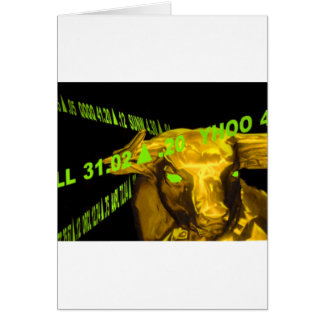 Bull Tarjeta De Felicitación
