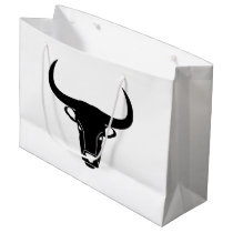 bull taurus large gift bag