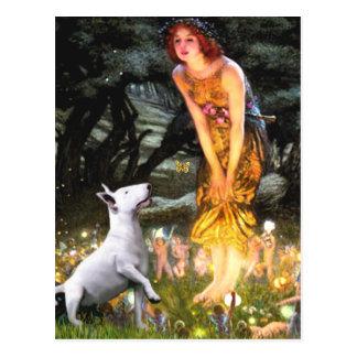 Bull Terrier 1 - MidEve Postcard