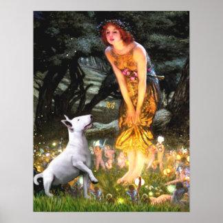 Bull Terrier 1 - MidEve Poster