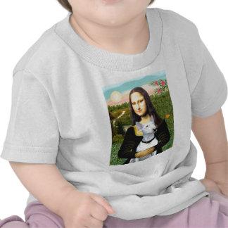 Bull Terrier 1 - Mona Lisa Tee Shirts