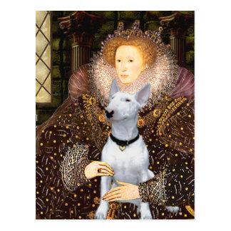 Bull Terrier 1 -= Queen Postcard