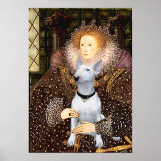 Bull Terrier 1 -= Queen Poster
