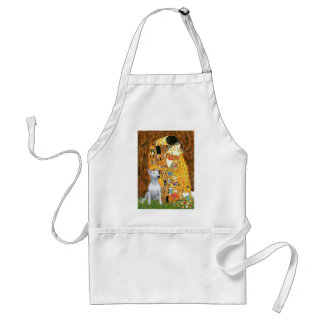 Bull Terrier 1 - The Kiss Adult Apron