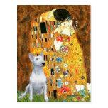 Bull Terrier 1 - The Kiss Postcard