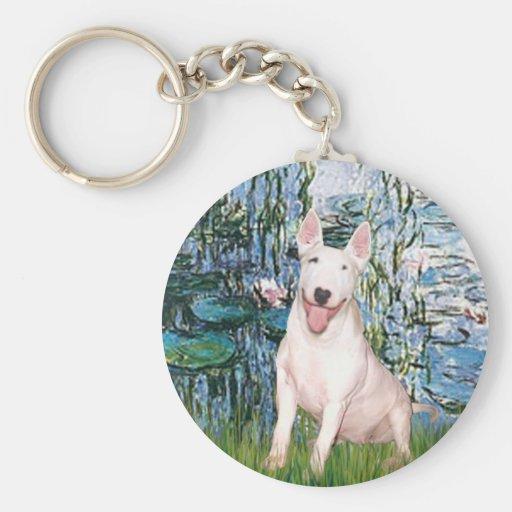 Bull terrier 4 - Lirios 1 Llaveros
