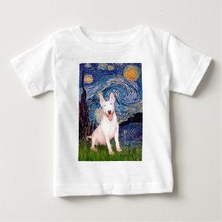 Bull Terrier 4 - Starry Night (Vert) Baby T-Shirt