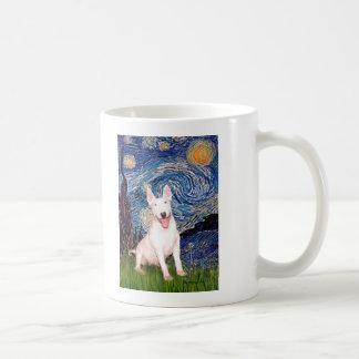 Bull Terrier 4 - Starry Night (Vert) Coffee Mug