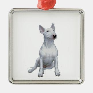 Bull terrier (a) - Blanco Ornamente De Reyes