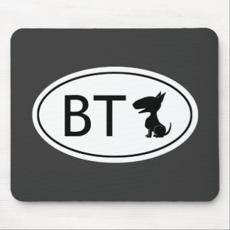 Bull Terrier Abbreviation - BT Mouse Pad