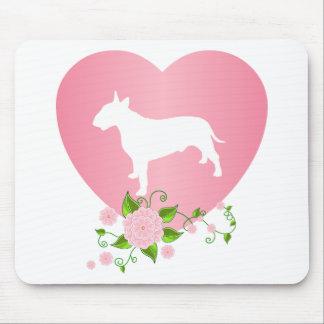 Bull terrier alfombrillas de ratón