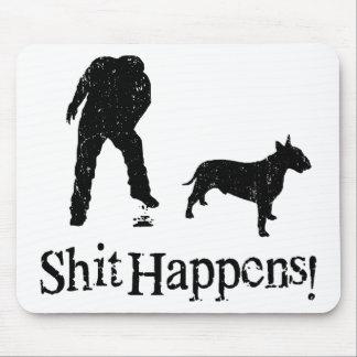 Bull terrier alfombrillas de raton
