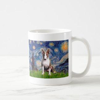 Bull Terrier (Br) - Starry Night Coffee Mug