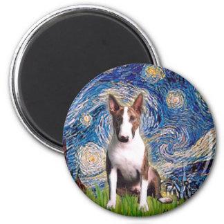 Bull Terrier (Br) - Starry Night Magnet