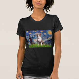 Bull Terrier (Br) - Starry Night T-shirts