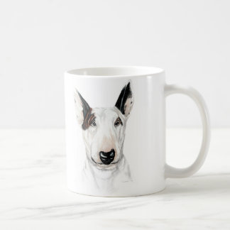 Bull Terrier Bust Classic White Coffee Mug
