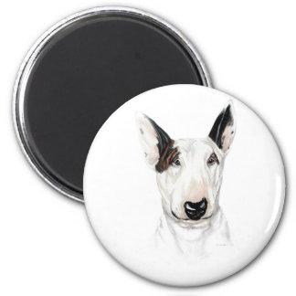 Bull Terrier Bust Magnets