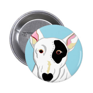 Bull Terrier Button