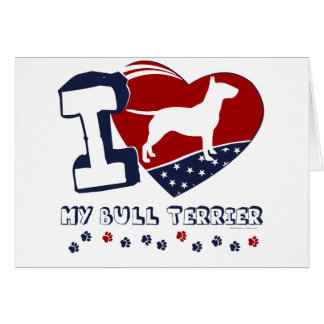 Bull Terrier Card