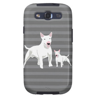 Bull Terrier Samsung Galaxy S3 Cases