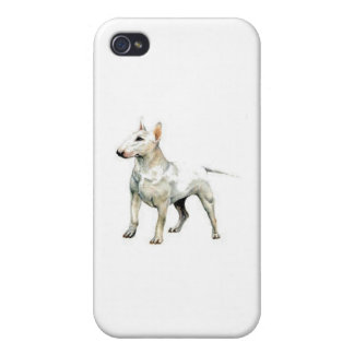 Bull Terrier Cases For iPhone 4