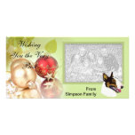 Bull Terrier Christmas cards Photo Greeting Card