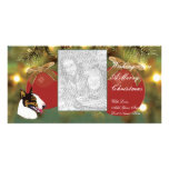 Bull Terrier Christmas cards Personalized Photo Card