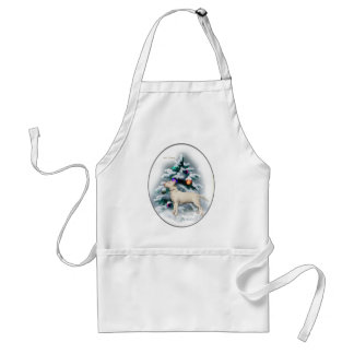 Bull Terrier Christmas Gifts Adult Apron