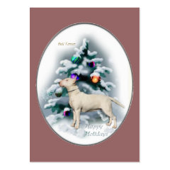 Bull Terrier Christmas Gifts profilecard