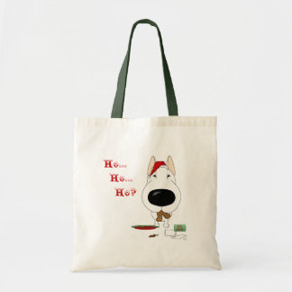 Bull Terrier Christmas Tote Bag
