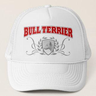 Bull Terrier COA red text Trucker Hat